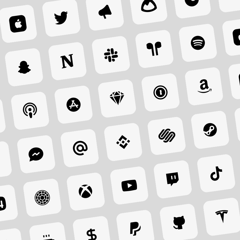iOS 14 white app icons